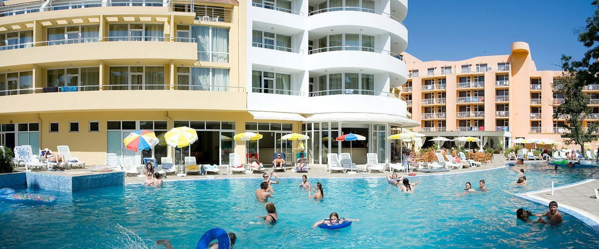 All inclusive în Bulgaria, Sunny Beach, Hotel Sun Palas