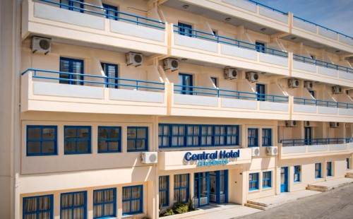 Odihnă în Grecia, Insula Creta, Hotelul Central Hersonissos