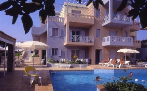 Vacanță la mare în Grecia, Insula Creta, Hotel Marilisa