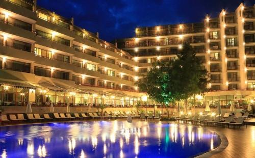 Всё включено, в Болгарии, Золотые Пески, Отель Edelweiss