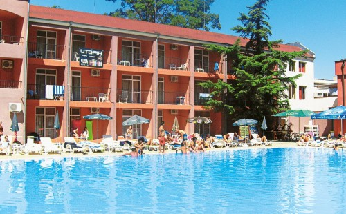 Vacanță în Bulgaria, Sunny Beach, Party Hotel Zornitsa
