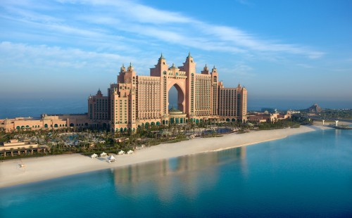 Vacanță în EAU, Palm Island, Hotel Atlantis The Palm