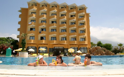 Odihnă în Turcia 2017, Alanya, Hotel Sunshine