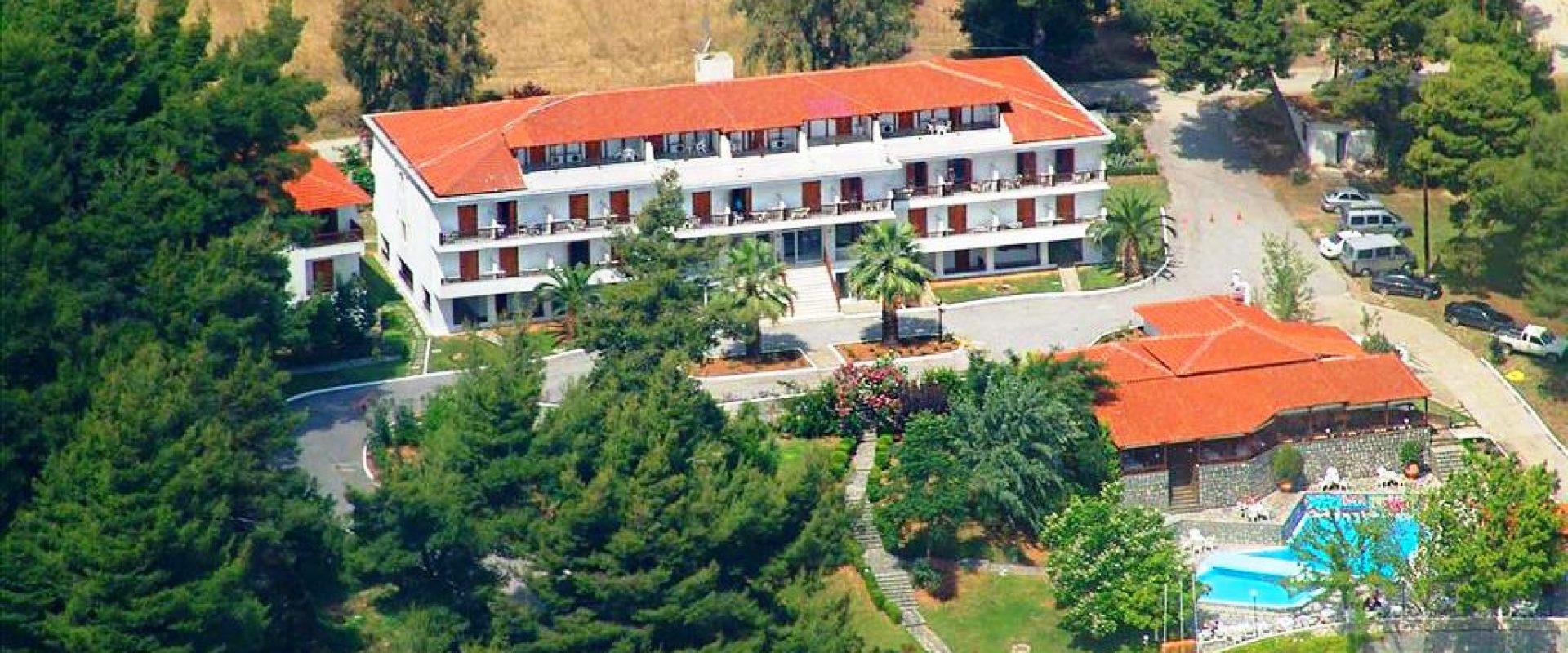 Vacanță la mare în Grecia, Halkidiki, Hotel Forest Park