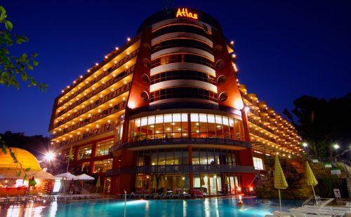 Odihnă în Bulgaria 2017, Golden Sands, Hotel Atlas