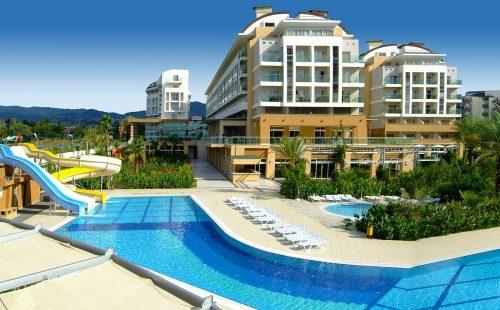 Odihnă în Turcia 2017, Alanya, Hotel Hedef Resort & Spa