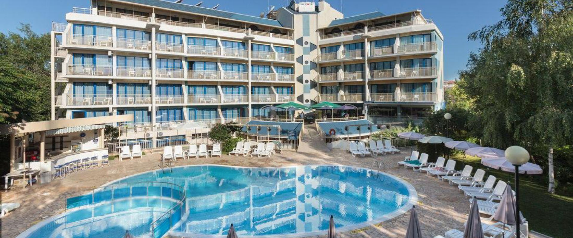 Ultra all inclusive în Bulgaria, Sunny Beach, Hotelul Aquamarine