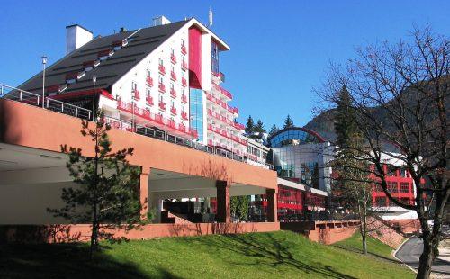 Munte România, Poiana Brașov, Hotel Piatra Mare