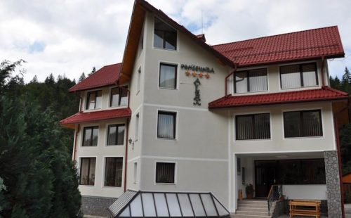Горы Румынии 2017, Моечиу, Pensiunea Casa Alex
