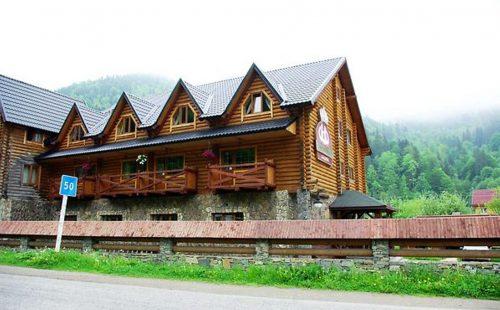 Отдых в горах Украины, Буковель, Отель Три Подковы