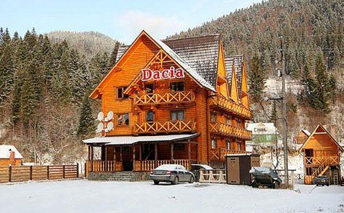Отдых в горах Украины, Буковель, Отель Dacia