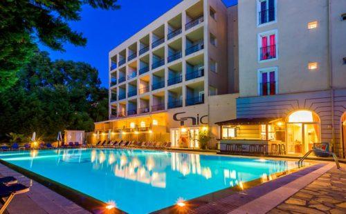 Odihnă pe insula Corfu 2017, Hotel Hellinis