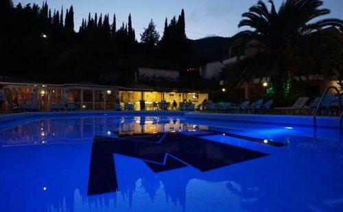 Vacanță în Grecia, Insula Corfu, Hotel Le Mirage