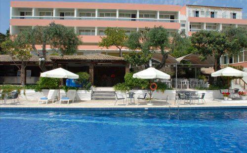 Vacanță în Grecia 2017, Insula Corfu, Hotel Alexandros