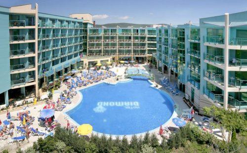 Отдых на море в Болгарии, Солнечный Берег, Отель Diamond