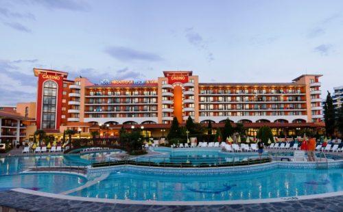 Vacanță în Bulgaria, Sunny Beach, Hotel Hrizantema 4*