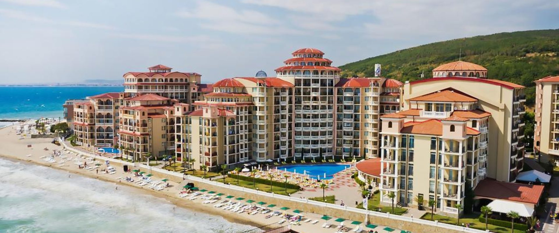 Odihnă la mare în Bulgaria 2020, Elenite, Hotel Andalusia Beach