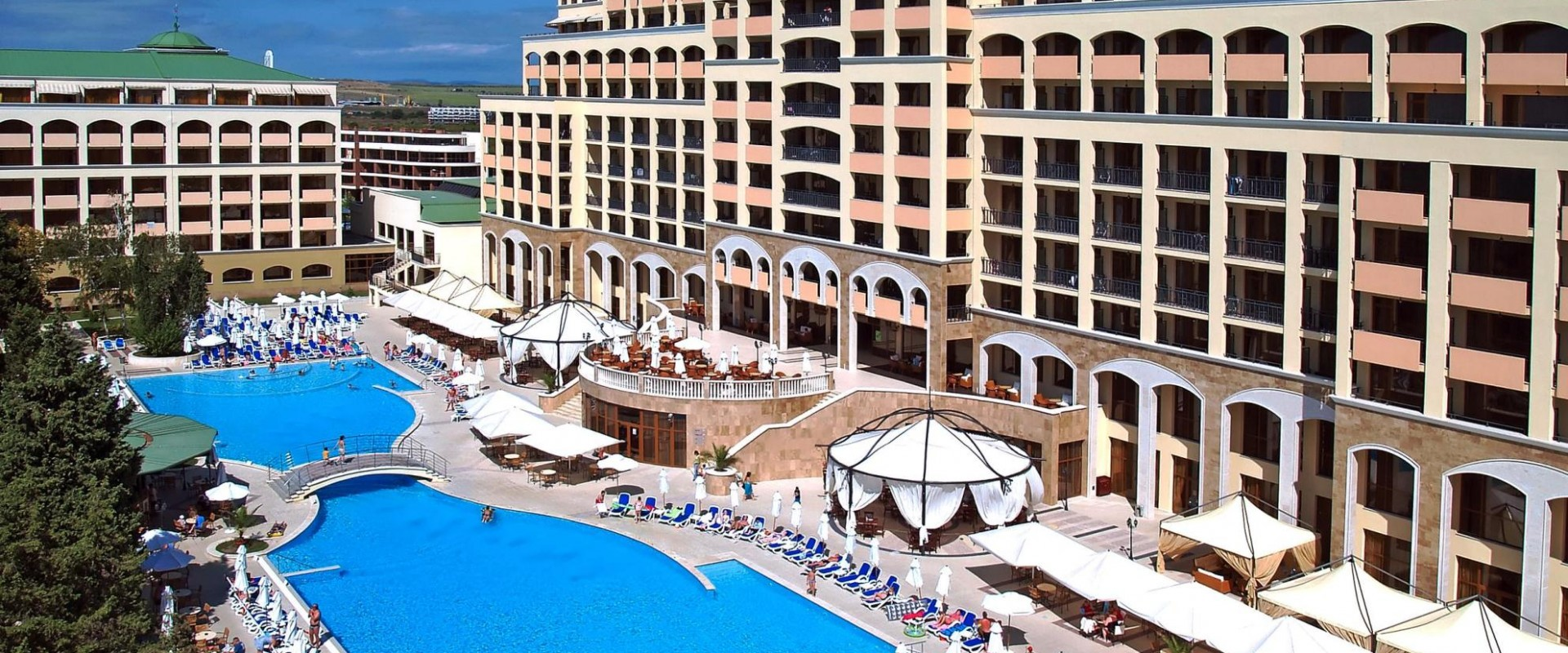 Bulgaria, Nessebar, Hotel Sol Nessebar Palace Resort & Aquapark