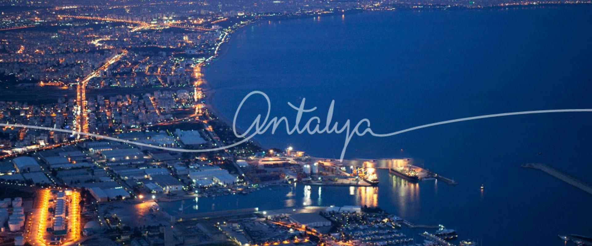 Distanțele rutiere dintre aeroportul Antalya și stațiunile provinciei