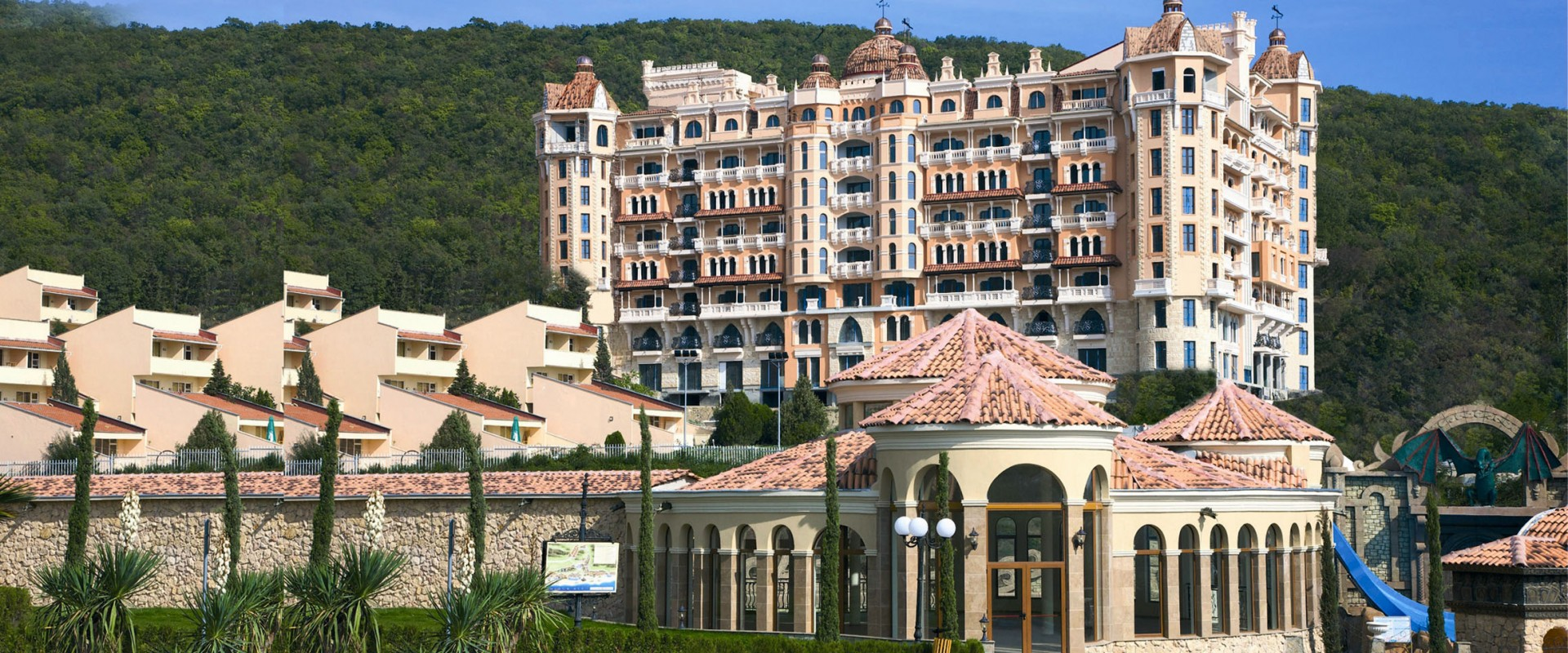 Vacanță la mare în Bulgaria, Elenite, Hotel Royal Castle