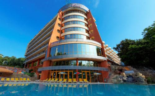 Odihnă în Bulgaria 2021, Golden Sands, Hotel Atlas