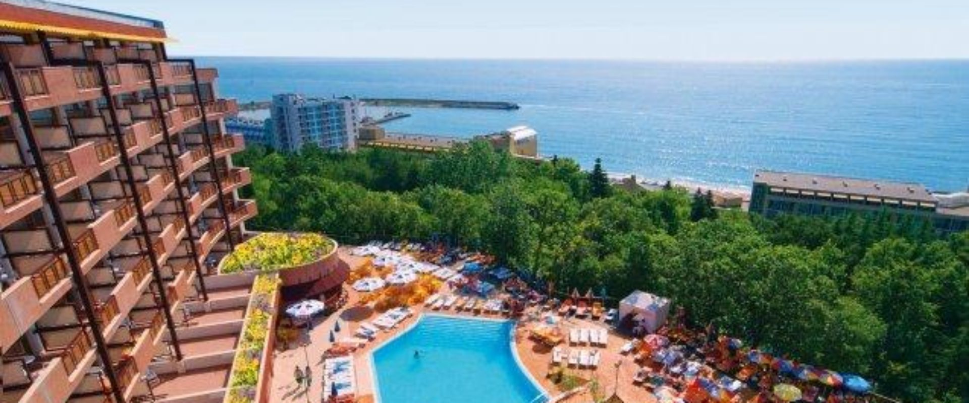 Odihnă în Bulgaria, Golden Sands, Hotel Berlin Green Park