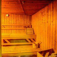 Sauna in Casa Aron