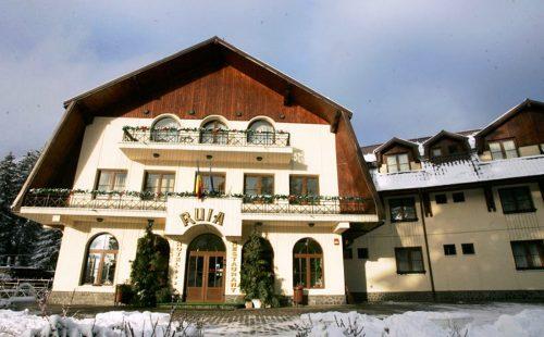 Odihnă la munte, România, Poiana Brașov, Hotel Ruia
