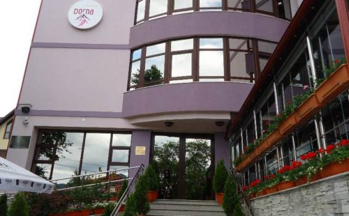 Vacanță la munte în România, Vatra Dornei, Hotel Dorna