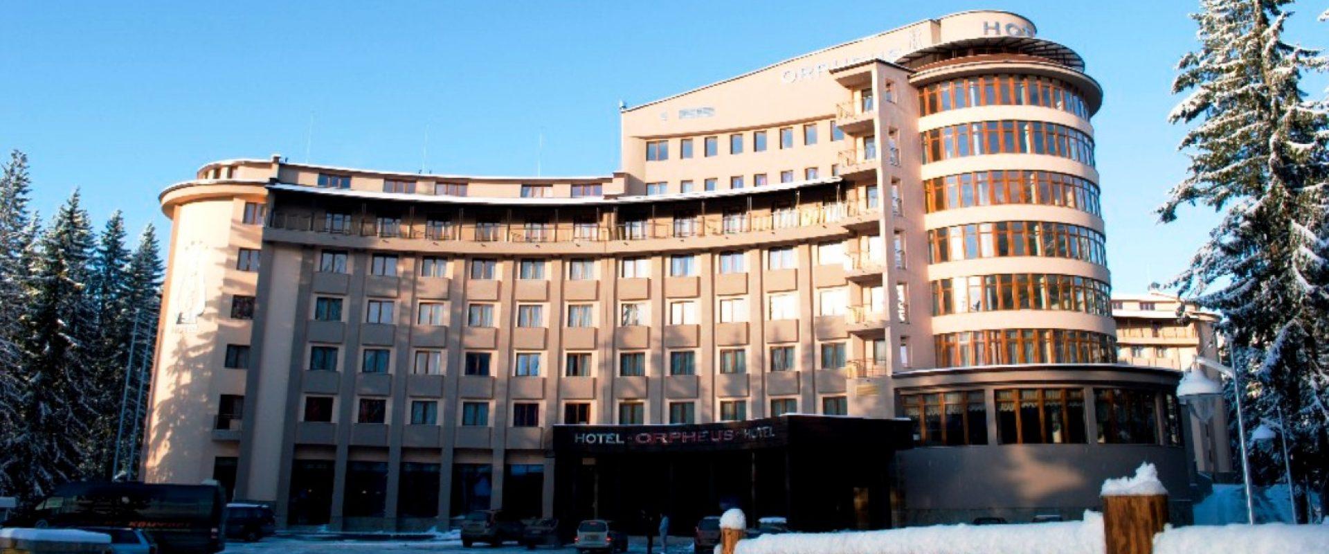 Odihnă la munte în Bulgaria, Pamporovo, Hotel Orpheus