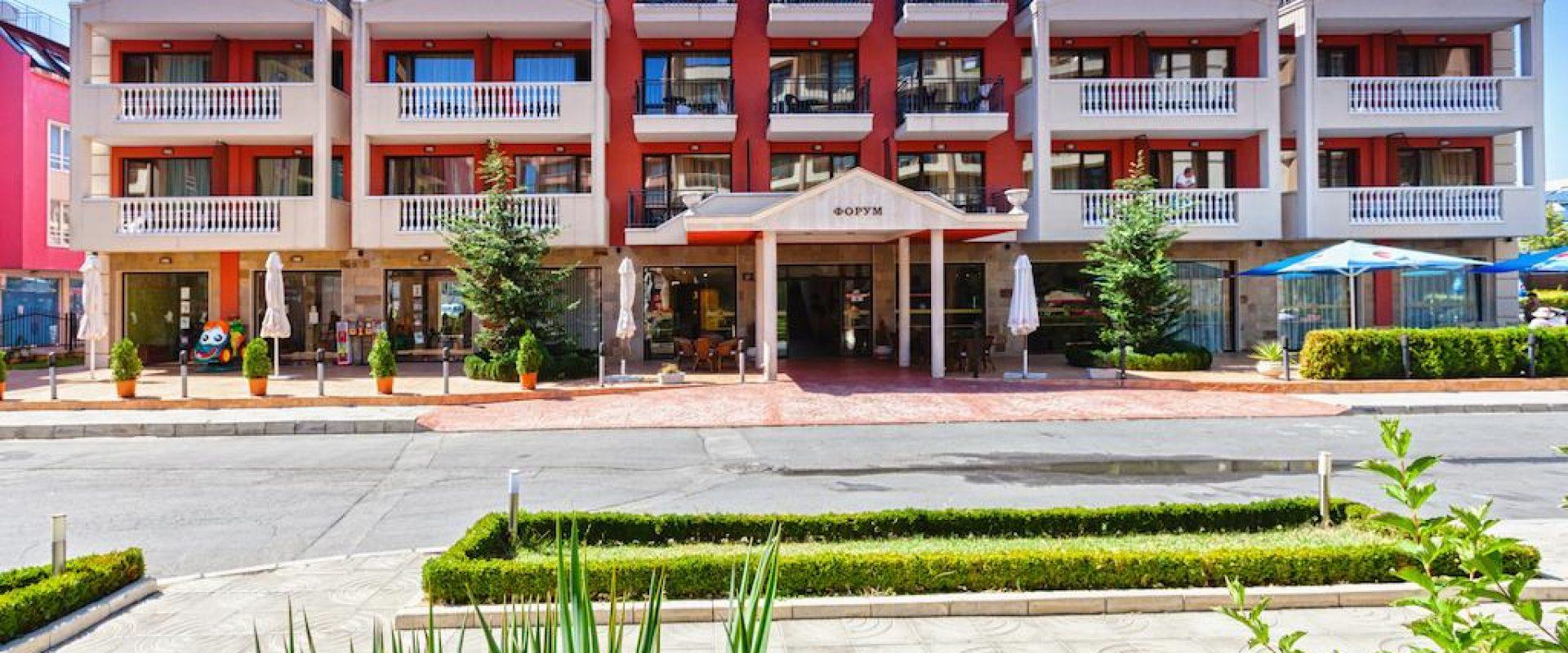 Odihnă în Bulgaria 2020, Sunny Beach, Hotel Forum