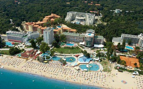 Litoral Bulgaria 2020, Golden Sands, Park Hotel Golden Beach