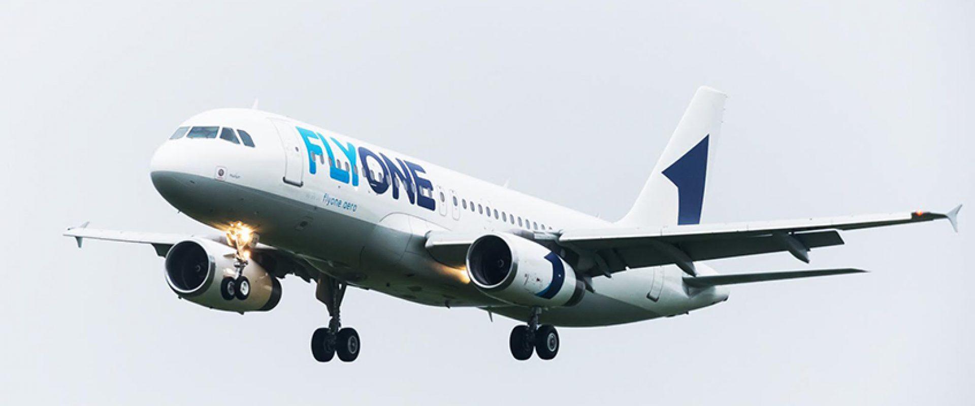 Zborurile operate de FlyOne în perioada 02 – 14 iunie 2020