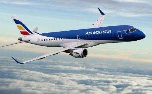 Zborurile operate de Air Moldova în perioada 2 – 16 iunie 2020