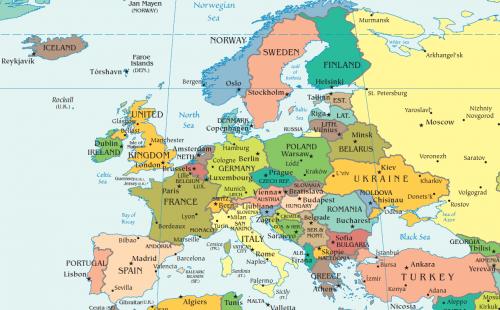 Lista țărilor europene după populație