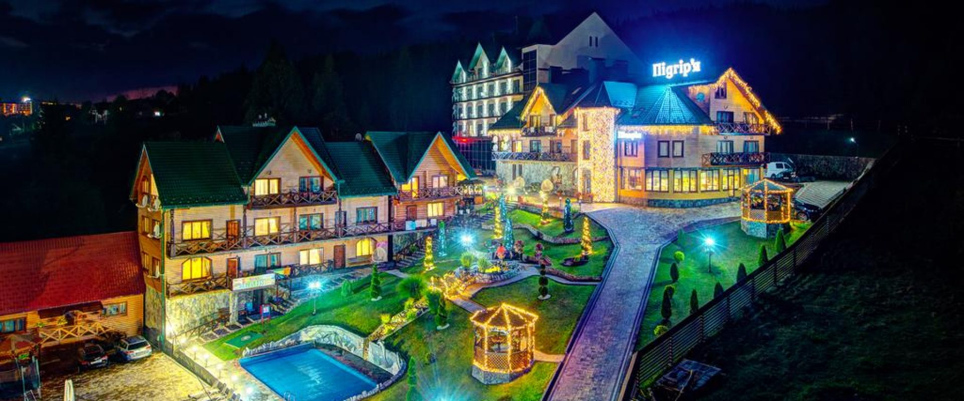 Odihnă în Bukovel, Podgorie Hotel