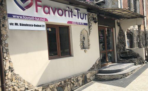 Favorit-Tur, o nouă locație în Chișinău